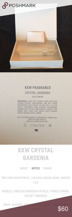 Kim Kardashian West Crystal Gardenia Perfume 💕 Brand new in original packaging. Perfume from her new collection. Kim Kardashian West Other