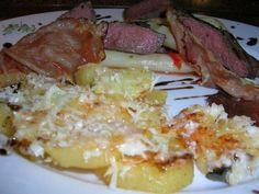 Das perfekte Rinderfilet, lauwarmer Spargelsalat, Parmesankartoffeln (italienische Liaison:-Rezept mit einfacher Schritt-für-Schritt-Anleitung: Die…