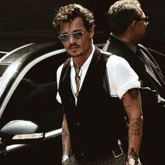 Johnny Depp just gets handsomer each year!
