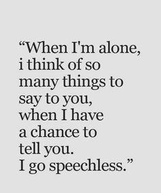 I have chance to tell you