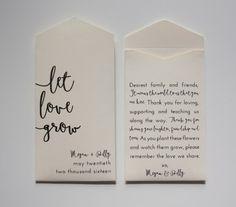 Laat liefde groeien crème gepersonaliseerde zaad door Megmichelle