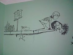 Shel Silverstein room mural ideas by Chic Spaces for Little Faces: Inspired by Shel Silverstein
