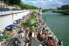Le spiagge di Parigi tra Senna e Canal de l'Ourq