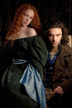 "Pre Raphaelite Art: Amy Manson and Aidan Turner as Lizzie Siddal and Dante Gabriel Rossetti in the TV series ""Desperate Romantics"", 2009"