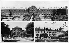 POSTCARD: ROYAL NAVAL HOSPITAL: HASLAR, GOSPORT