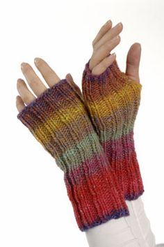 Fingerless Mitts Free Knitting Pattern