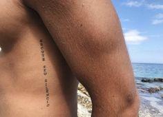 Rose Rib Tattoos, Rib Tattoos For Guys, Tatto For Men, Small Rib Tattoos, Sun Tattoos, Rib Tattoos Men, Black Tattoos, Inner Bicep Tattoo, Tattoo Spots