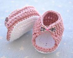 Zapatos de crochet – Etsy MX