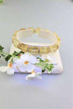 Sima-polodrahokamy / citrín náramok široký štvorčekový Bangles, Bracelets, Lapis Lazuli, Jewelry, Jewlery, Jewerly, Schmuck, Jewels, Jewelery