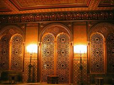 Moroccan Smoking Room  Yusupov Palace, St Petersburg, Russia