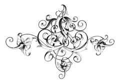 Flourishes! - Project Wedding.  Really cute orders & flourishes for craft or scrapbook projects.