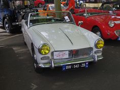 MG B BW 543 ZB - 16 juin 2013 (Grand Prix de Tours, boulevard Béranger - Tours)