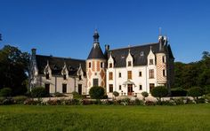 This country estate stretches to 52 tranquil acres, yet is just 45 minutes to Paris by TGV. The 19th century chateau has some parts dating back to the 14th century and has been fully restored.