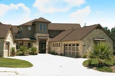 Spectacular Texas Style Home Plan - thumb - 01 Texas Ranch Homes, Texas Style Homes, Ranch Style Homes, Texas House Plans, Texas Mansions, Westin Homes, Palm Harbor Homes, Perry Homes, One Level Homes
