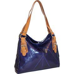 Nino Bossi Satchel Bag Viola - Nino Bossi Leather Handbags