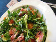 As Minhas Receitas: Salada de Rucula à Italiana