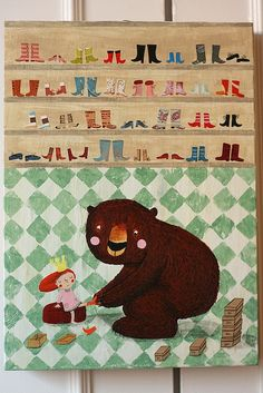 After the umpteenth shoe put on her feet, the princess still could not find a pair that suited her...