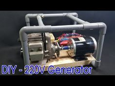 Work power electric motor generator make free energy using magnets - Science Project 2018 Motor Generator, Diy Generator, Homemade Generator, Solar Panel Cost, Solar Panels, Diy Electronics, Electronics Projects, Energy Projects, Electric Motor