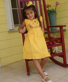 Take a look at the Mango Leonor Dress - Infant, Toddler & Girls on #zulily today!