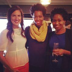 At the #loverlylounge with Kat Harris. Love her style! #bridalmarket @loverly @Jacqueline Nwobu @Eronmwon Balogun