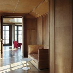 51, rue Raynouard    -  Private apartment of August Perret in Paris (1932), pioneer of reinforced concrete architecture