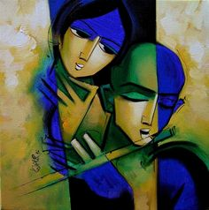 Lovely painting by Arvind Kolapkar