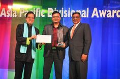 Anuraag Bhatnagar, General Manager was bestowed with Hotel of the Year  on April 11, 2012 at the St. Regis, Singapore by Starwood Hotels & Resorts Asia Pacific