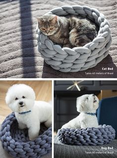 DIY Oversized Knitting Decor - The Ohhio Braid Lets Consumers Create Unique Chunky Knit Decor (GALLERY)