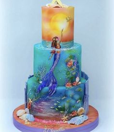 Fantastic Sweets (and How to Find Them) — Cake Wrecks Gorgeous Cakes, Pretty Cakes, Cute Cakes, Amazing Cakes, Amazing Birthday Cakes, Crazy Birthday Cakes, Crazy Wedding Cakes, Crazy Cakes, Mermaid Birthday Cakes