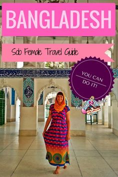 Solo Female Travel in Bangladesh is absolutely possible and one of the greatest adventures you can undertake. I did it. You can too!