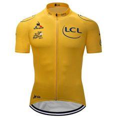 57d060e0e Yellow cycling Jersey Tour de France 2017 replica