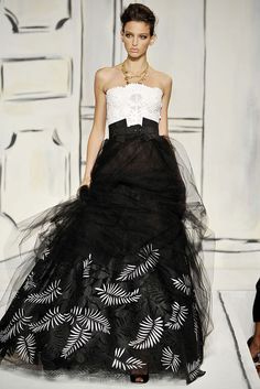 Oscar de la Renta  New York Fashion Week