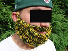 Green & gold beard #TribePride #WMAlumni #WMAA