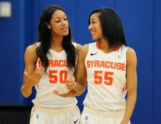 Syracuse women's basketball Day twins (Briana and Bria) are tall, talented and talkative | syracuse.com