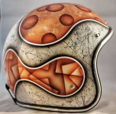 Speckled White Egg One-Of-A-Kind Biltwell custom painted helmet. $299 Available here: http://sqi.sh/g5y
