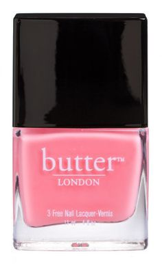 butter london nail polish- trout pout. today's purchase.
