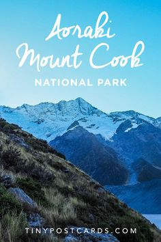 "Going forward, if anyone asks me what places in New Zealand I would consider a ""must-visit"", I think Aoraki/Mount Cook is going to be at the top of my list..."
