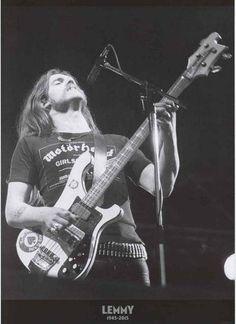 Motorhead Lemmy Kilmister Tribute Poster 24x33 – BananaRoad