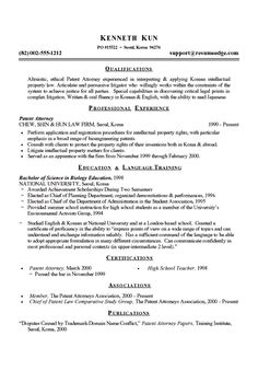Sample Law School Resume Academic Cv Example  Cv Examples Grant Writing And Program