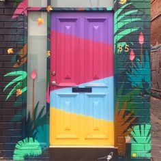 Gorgeous door alert! Spotted by @sayhellocolour in the wilds of inner city Melbourne.