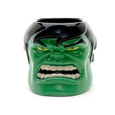 It's not easy being green. And angry. #hulk #mug