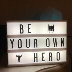 My Cinema Lightbox® Mini Lightbox, Lightbox Letters, Lightbox Quotes, My Cinema Lightbox, Light Up Message Board, Light Board, School Motivation, Morning Motivation, Cinema Light Box Quotes
