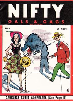 Nifty Gals and Gags… May 1953.