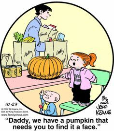 pumpkin pie thats not nice family circus - Google Search