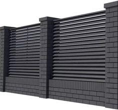 Front Wall Design, House Fence Design, Exterior Wall Design, Modern Fence Design, House Outside Design, Modern House Design, Sliding Door Design, Door Gate Design, Interior Design Atlanta