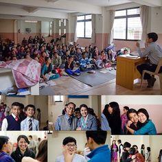 Primera reunión después del terremoto en Baneshor Congregación, Katmandú , Nepal.
