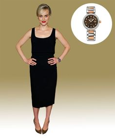 Watch & Learn: Taylor Schilling's Omega Ladymatic