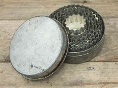 Set of Vintage Pastry Cutters @ www.supervintagedecor.co.uk