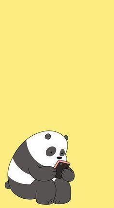 flos-chorum — [We Bare Bears pastel lockscreens] pls like or. Cute Panda Wallpaper, Bear Wallpaper, Cute Disney Wallpaper, Kawaii Wallpaper, Animal Wallpaper, Wallpaper Tumblr Lockscreen, Whatsapp Wallpaper, Cute Wallpaper Backgrounds, Wallpaper Iphone Cute