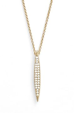 Nadri 'Tattoo' Spear Pendant Necklace available at #Nordstrom